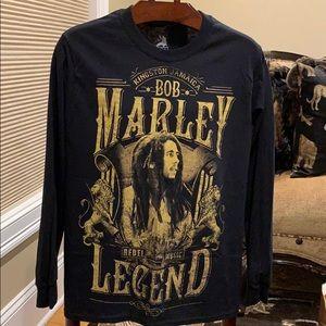 Bob Marley long sleeve t-shirt men's size S NWT